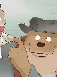 艾特熊与赛娜鼠剧照