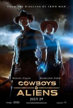 牛仔和外星人剧照