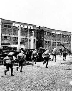 解放上海——攻打苏州河剧照
