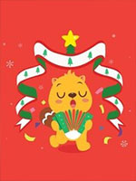 贝瓦儿歌圣诞节儿歌剧照