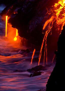 火山的形成剧照