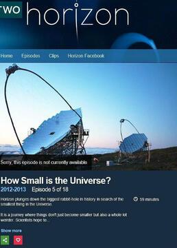 宇宙究竟有多小剧照