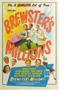 布鲁斯特的百万横财剧照