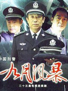 中国刑警之九月风暴剧照