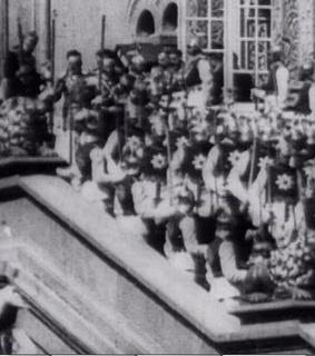尼古拉二世的加冕典礼剧照
